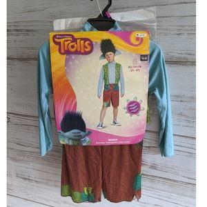Nwt Trolls Branch Halloween Costume Size XS, 3t-4t